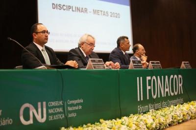 Corregedores discutem aperfeiçoamento das áreas Disciplinar e Extrajudicial