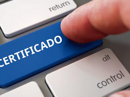 Com o uso do certificado ICP-Brasil carta de anuência pode ser emitida de forma eletrônica