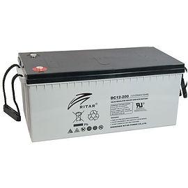 Ritar Batteries Banner by Inborn Energy.