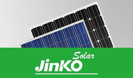 Jinko Solar Panels Banner by Inborn Ener