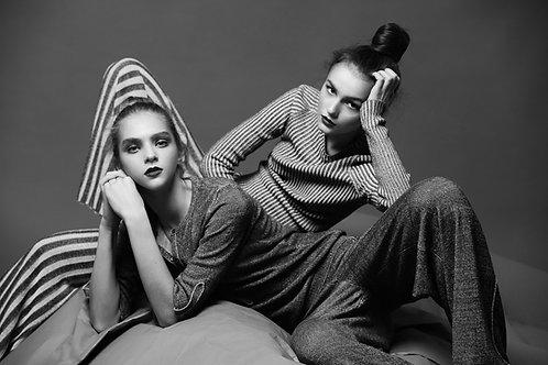 Modelo, fotografía, posando, modelaje