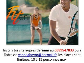 Venez nombreux à la séance de Fit-Tennis !!!