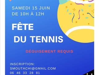 Fête du mini-tennis de fin d'année