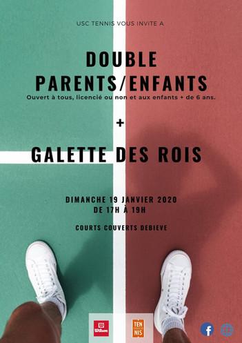 """Double parents/enfants et """"galette des rois"""""""
