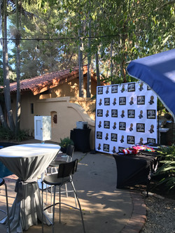 step and repeat photo booth