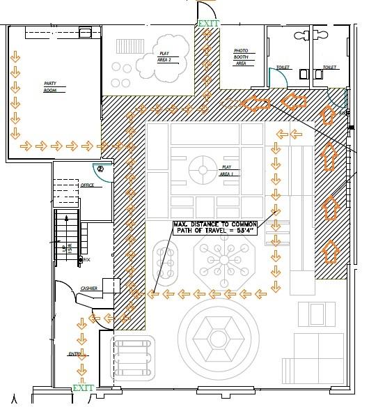 JPK Emergency Exit Route Plan