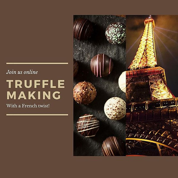 *We had so much fun at the last truffle