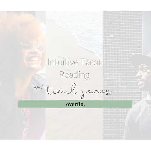 Recorded Intuitive Tarot Reading