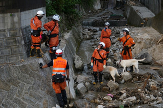 NPO法人災害救助犬静岡