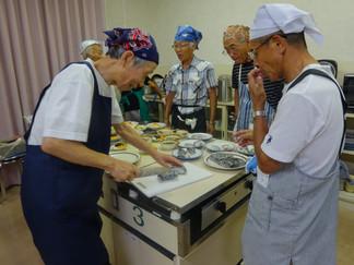 コミセン「男の料理教室」