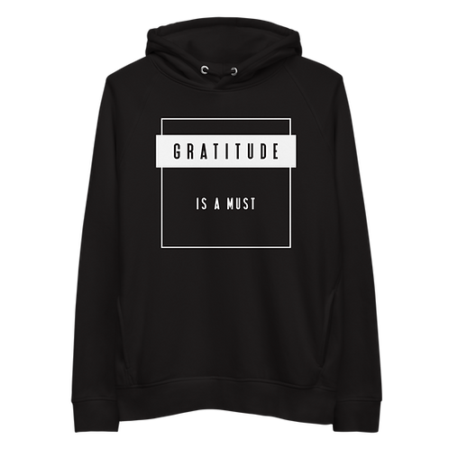 Unisex hoodie - GRATITUDE