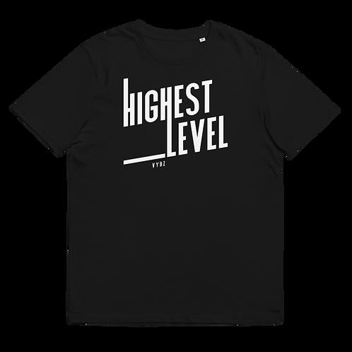 HIGHEST LEVEL - Unisex organic cotton t-shirt