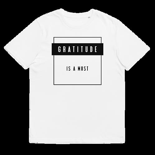 GRATITUDE - Unisex organic cotton t-shirt -