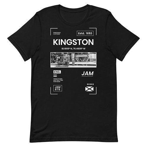 Short-Sleeve Unisex T-Shirt - KINGSTON