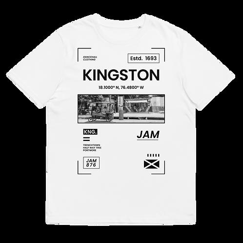 KINGSTON - Unisex organic cotton t-shirt
