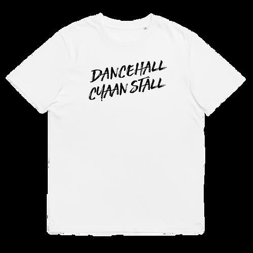 DANCEHALL CYAAN STALL - Unisex organic cotton t-shirt