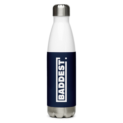 Stainless Steel Water Bottle - BADDEST
