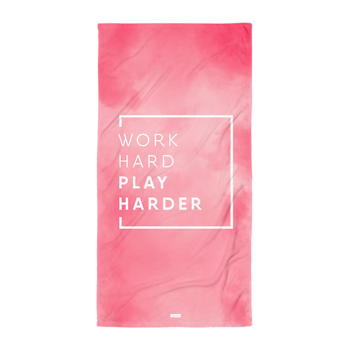Towel - WORK HARD