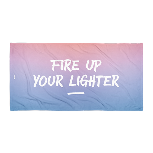 Towel - FIRE UP THE LIGHTER