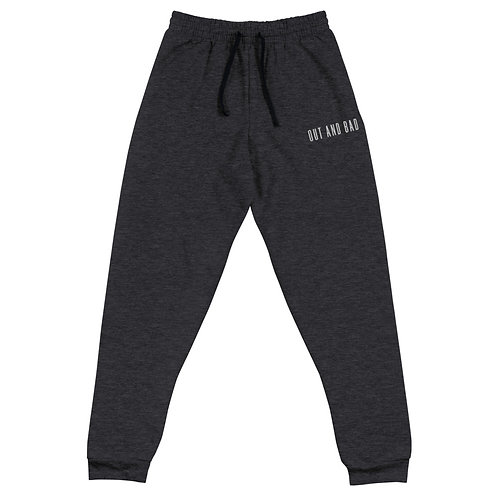 OUT AND BAD UNISEX JOGGERS