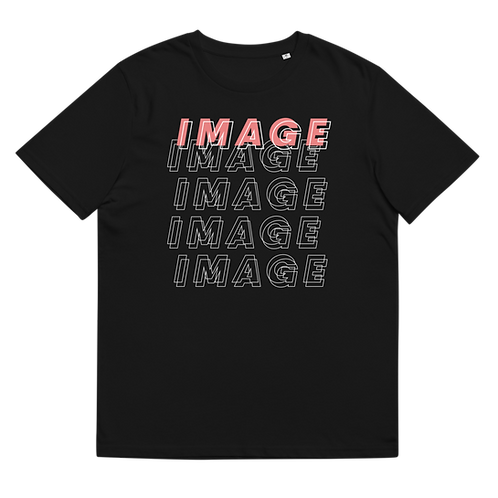 IMAGE - Unisex organic cotton t-shirt