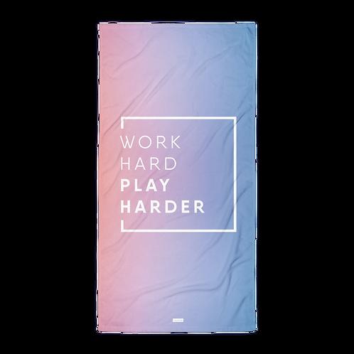 Towel - WORK HARD