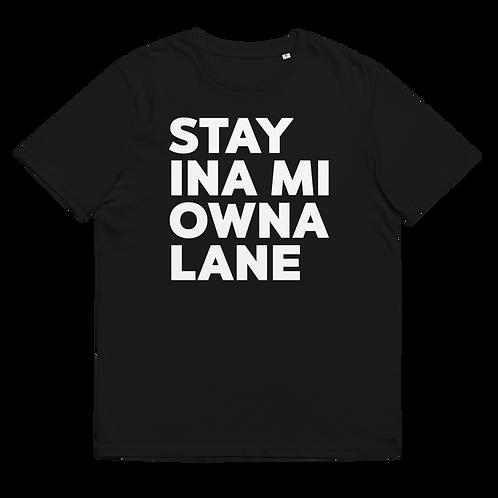 OWNA LANE - Unisex organic cotton t-shirt