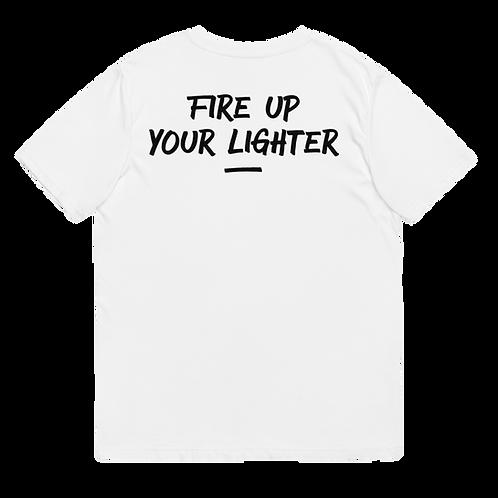 FIRE UP YOUR LIGHTER - Unisex organic cotton t-shirt