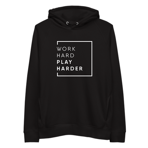 Unisex hoodie - WORK HARD