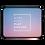 Thumbnail: Laptop Sleeve - WORK HARD