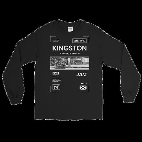 Men's Long Sleeve Shirt - KINGSTON