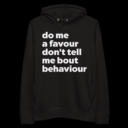 Unisex pullover hoodie - BEHAVIOUR