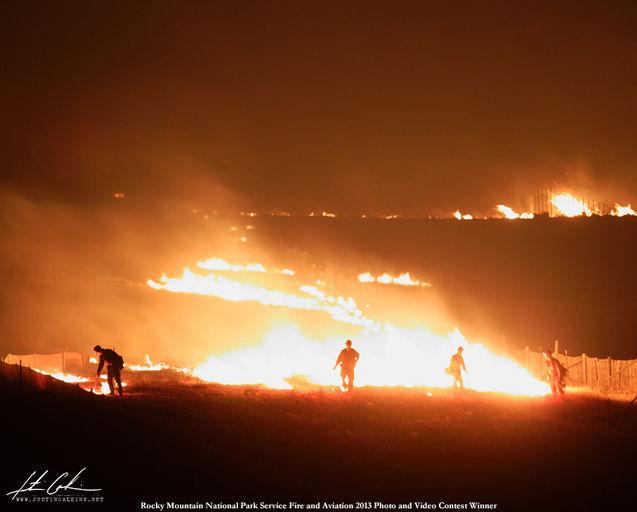 Fern Lake Wild Fire (RMNP)