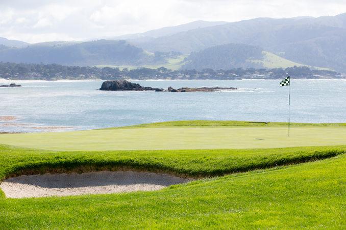 Pebble Beach Golf Course #18