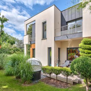 Maison d'architecte et son jardin