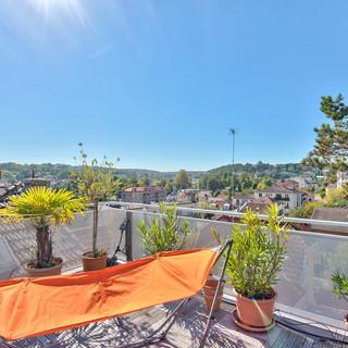 Toit terrasse avec vue