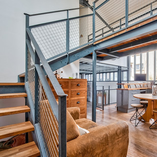 Maison style industrielle