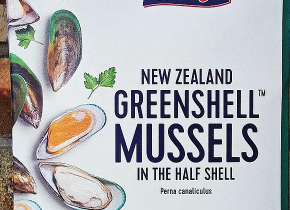 HALFSHELL MUSSELL NZ 半壳青蚝