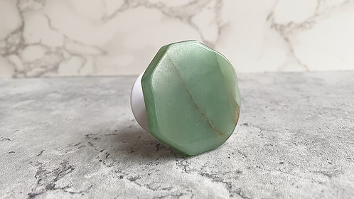 Green Aventurine Phone Grip