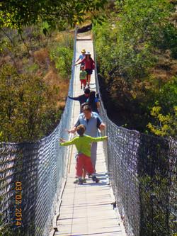 Grutas Ziranda Puente Colgante