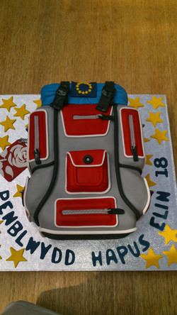 Backpack Bag Cake