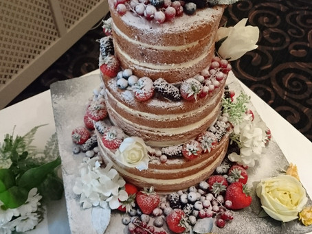 Top 5 Wedding Cake Flavours