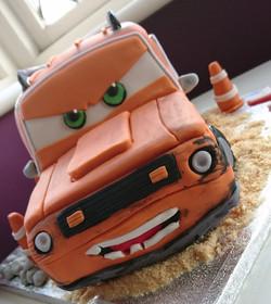 3D Grem Cars Cake
