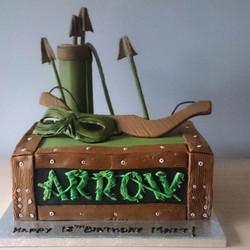 Green Arrow Cake