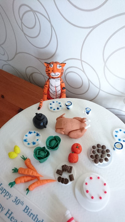 The Tiger Who Came For Tea Cake