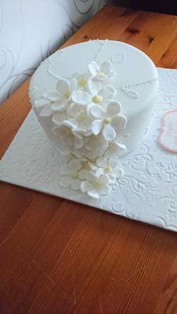 Cascading Flower Cake