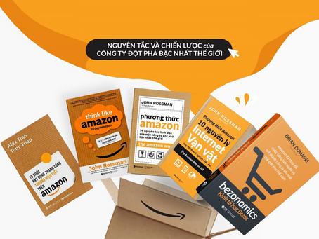 Review Sách: 5 Cuốn Tư Duy Amazon – Những Bí Mật Kinh Doanh Thành Công Của Amazon
