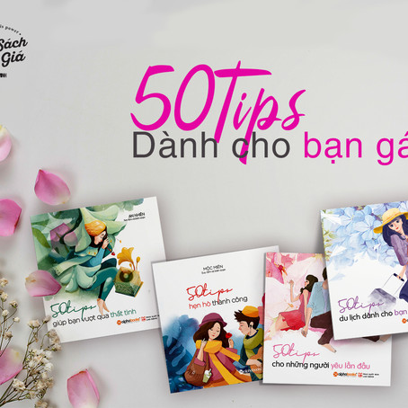 Review Sách:  Bộ 50 Tips For Girls