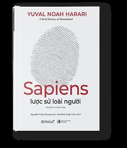Hình bìa cuốn sách sapiens