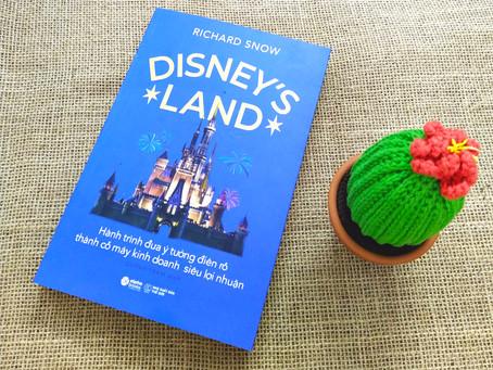 "Review Sách ""Disney's Land"""